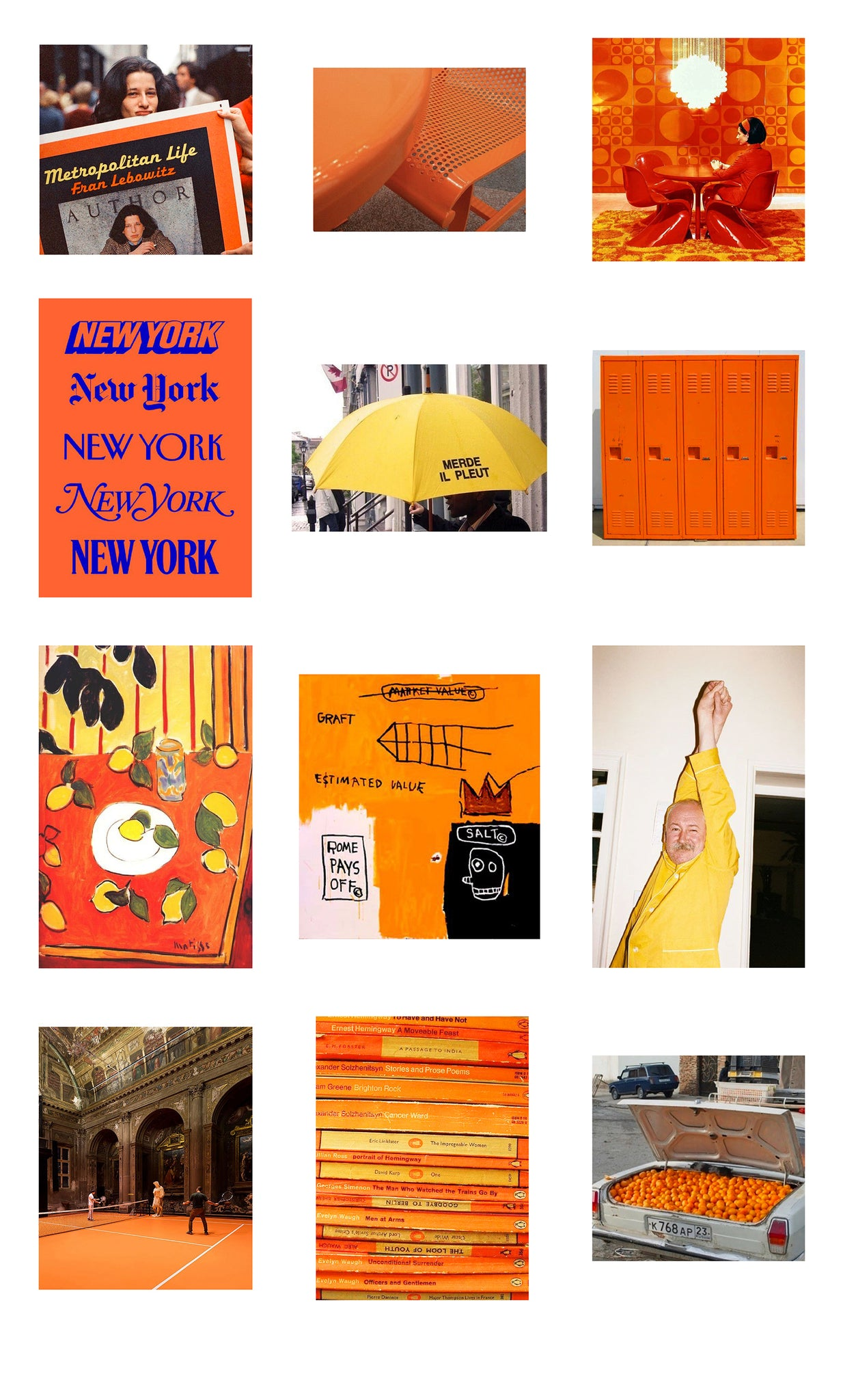 No summer moodboard is complete without the colour of sunshine itself: gorgeous orange and yellow hues