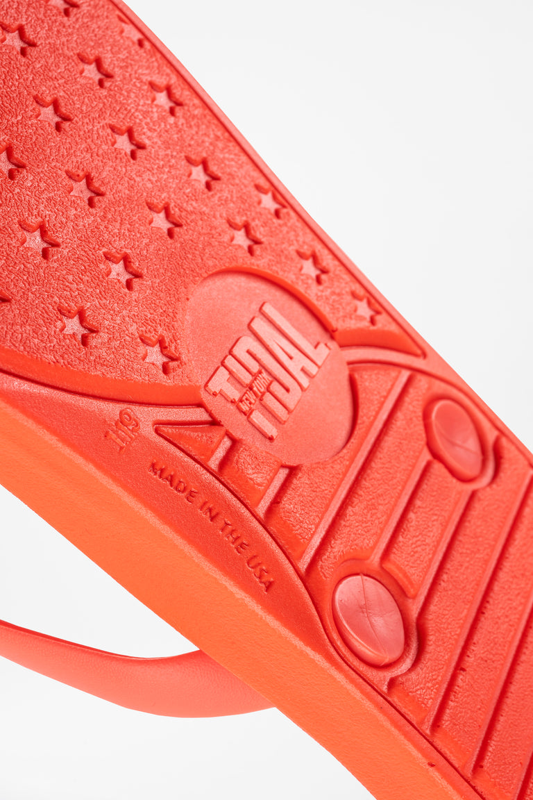 Where to get red Flip Flops? Look no further for high quality and made in America Flip Flops
