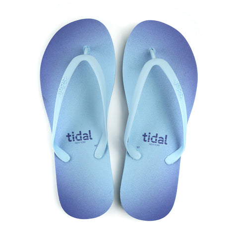 Halo Women's Flip-Flops - Sky Blue