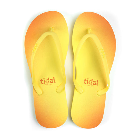 Halo Women's Flip-Flops - Yellow