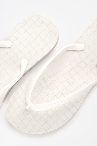 Tidal flip flops are made in America with recycled materials