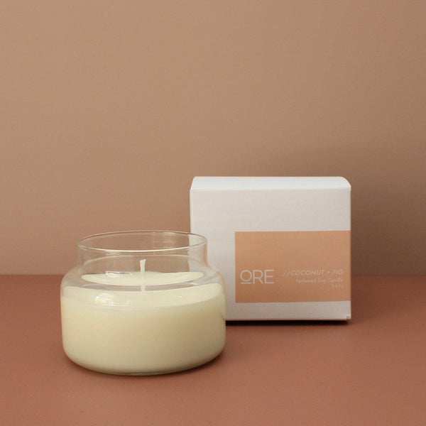 Coconut + Fig Soy Candle - 15% OFF
