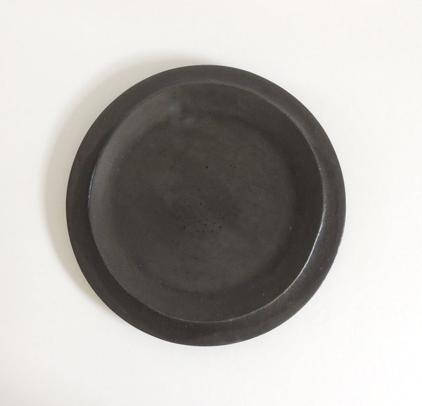 Concrete Side Plate - Black