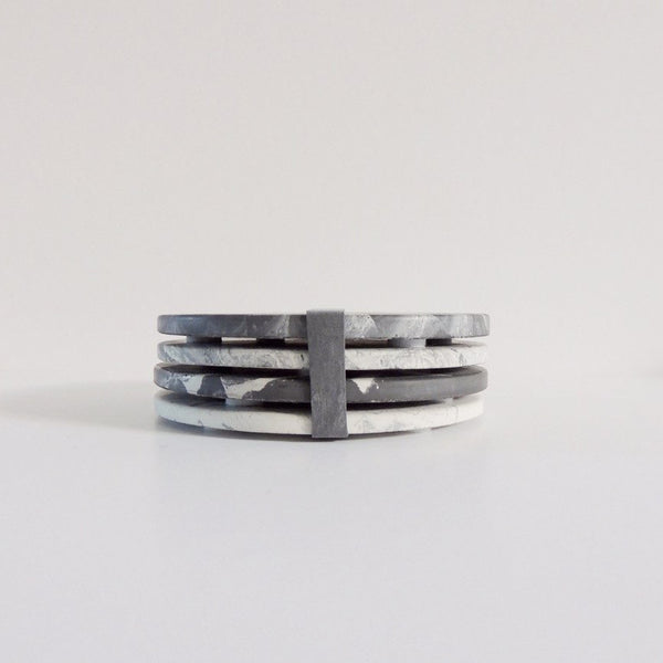 Concrete Coasters - Premium Collection