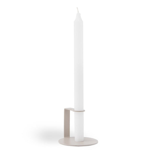 Fold Candle Holder - Beige