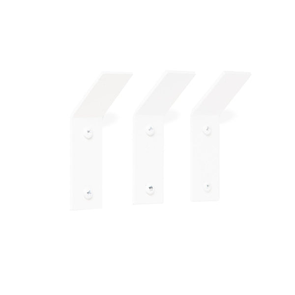Fold Hooks (Set of 3) - White