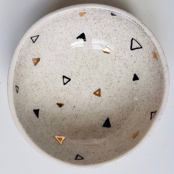 Ring Bowl - Tripple Triangles