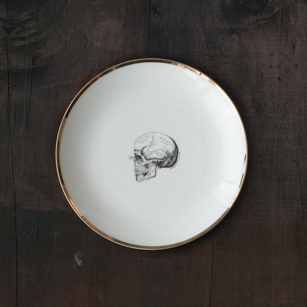 Art of Science Entree Plate - Skull - 15% OFF