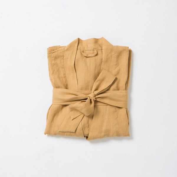 COMING SOON - BELLA WOMEN'S LINEN DRESSING GOWN