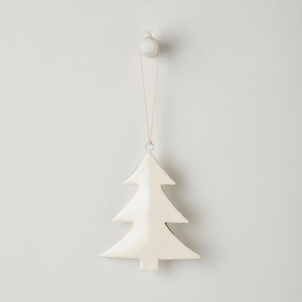 Enamel Tree Hanging Decoration
