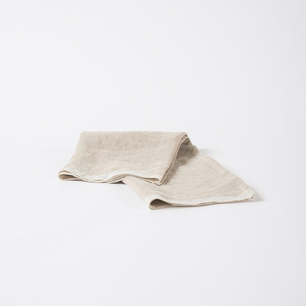 Selvedge Edge Linen Tea Towel