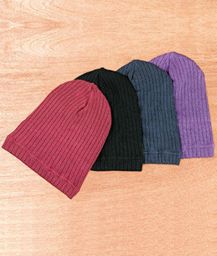 Limited Purple Knit Beanie (AS009)