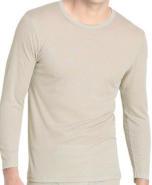 Men's Grey Long-sleeve Undershirt (UW307)