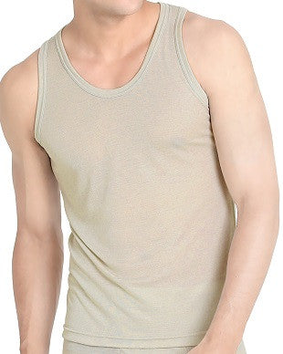 Men's Grey Sleeveless Undershirt (UW306)