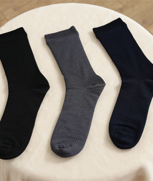 Men's Ribbed Socks (LS003)