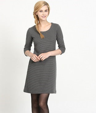 Ladies' Long-sleeve Shift Dress (OC001)