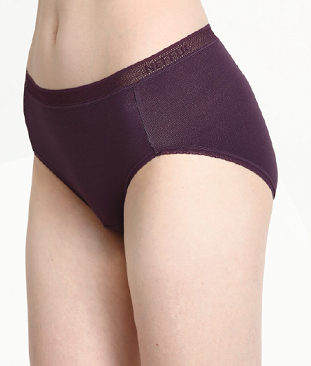 Ladies' Mid-Rise Underwear (2 per pack) (UW602)