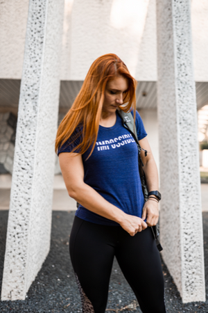 Open image in slideshow, Women's IMPOSSIBLE Shirt Blue