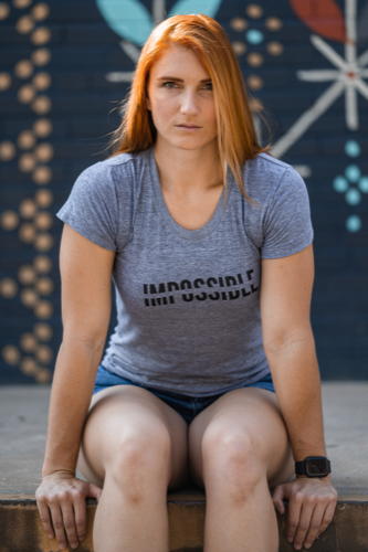 Women's IMPOSSIBLE Shirt Grey