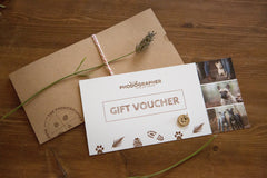 Gift Voucher - 'Muddy Good Walk' photoshoot + picture + silver charm package