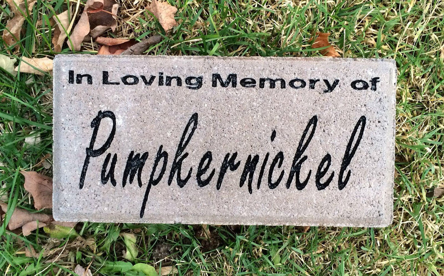 4x8 personalized pet memorial grave marker timeless pet memorials