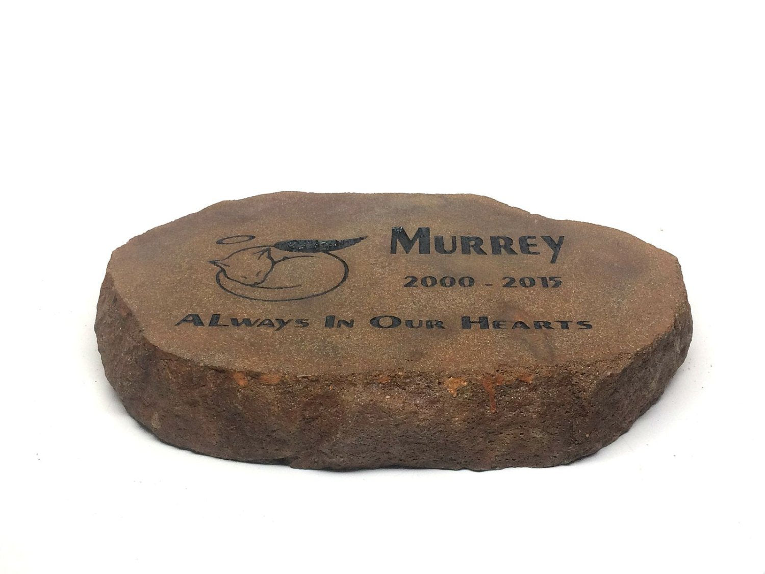Personalized Pet Memorial Garden Stone Thick Heavy Duty stone Not ...