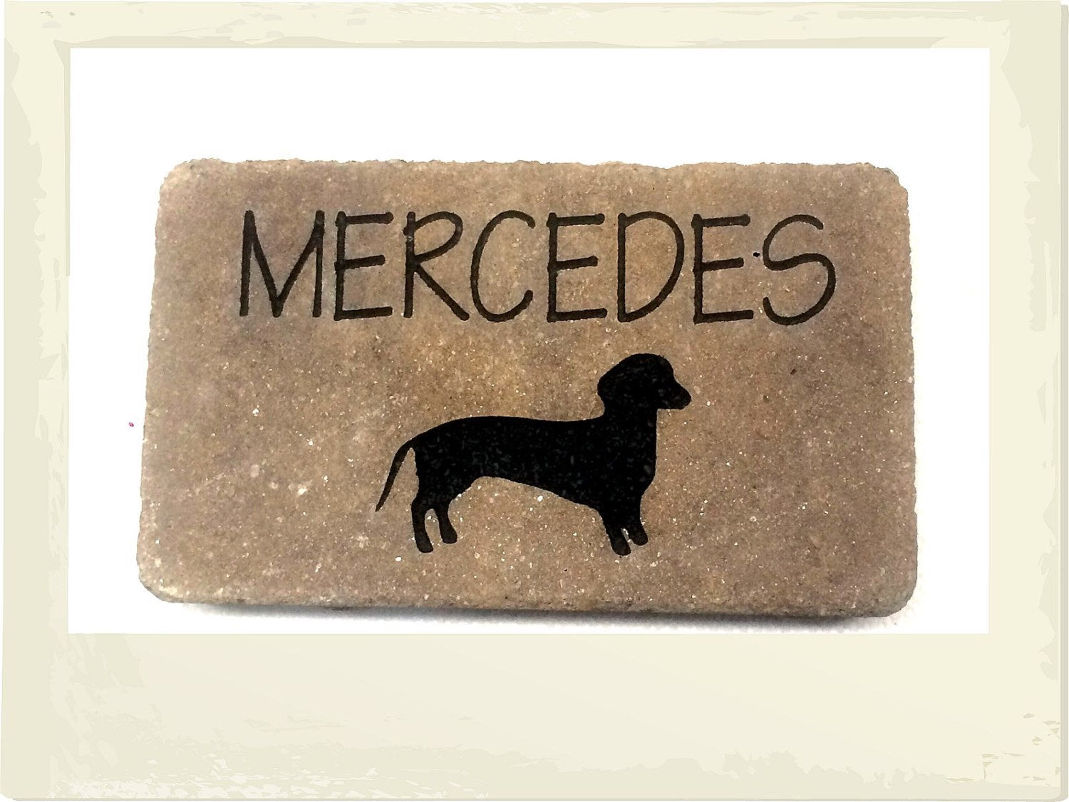 Pet Stone Memorial Grave Marker / Headstone Add your own beloved ...