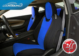 Coverking CR-Grade Neoprene Custom Fit Front Seat Covers for Chevy Camaro 5