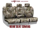 Coverking Kryptek Tactical Tailored Seat Covers for Nissan Titan XD Full Set
