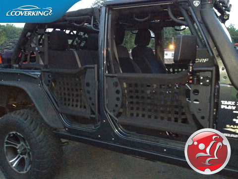 Coverking CR Grade Neoprene Custom Fit Seat Covers For Jeep Wrangler JK 2015