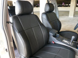 Clazzio Leather Front & Rear Custom Fit Seat Covers for Toyota Camry