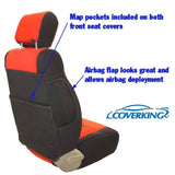 Coverking CR-Grade Neoprene Custom Fit Seat Covers for Jeep Wrangler TJ 97-02