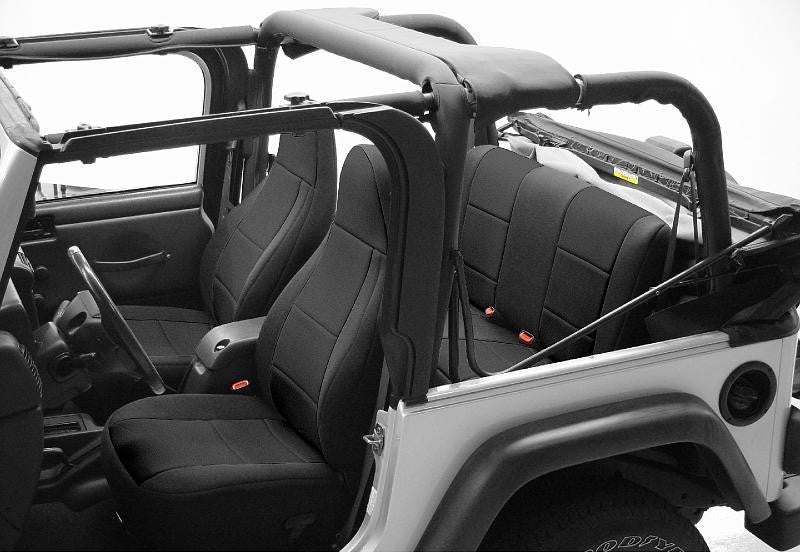 Coverking CR Grade Neoprene Custom Fit Seat Covers For Jeep Wrangler TJ 97  02
