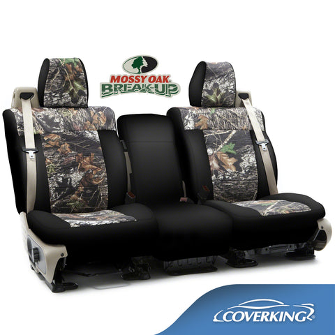 Coverking Neosupreme Mossy Oak Camo Custom Fit FRONT Seat Covers