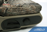Coverking Neosupreme Mossy Oak Duck Blind Custom Fit Rear Seat Covers for Chevy Silverado 1500 2500 3500