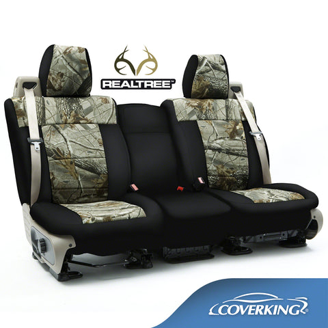 Coverking Neosupreme Realtree Camo Custom Fit Seat Covers for Chevy Silverado 2500