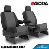 Coverking MODA Leatherette Custom Fit Seat Covers for Hummer