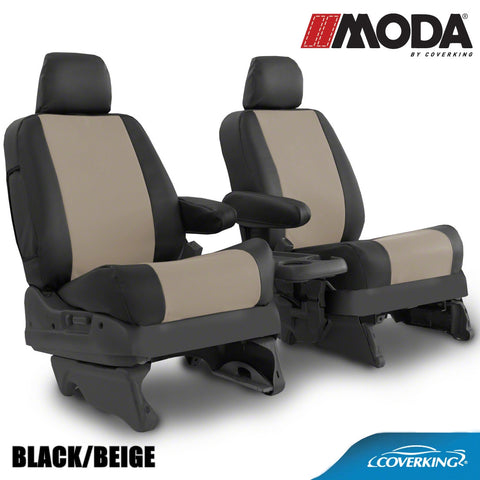 Coverking MODA Leatherette Custom Fit Seat Covers for TOYOTA TACOMA