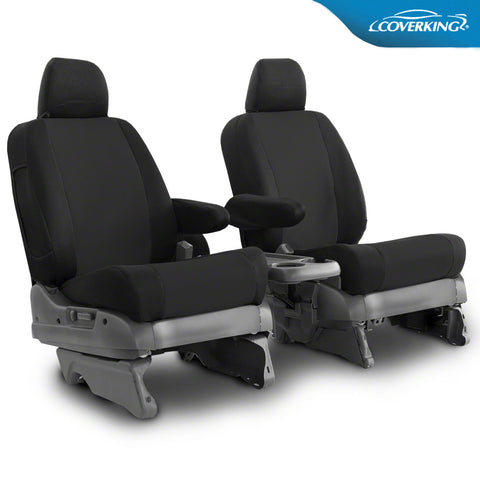 Coverking Sportex Spacer Mesh Tailored Front Seat Covers for Ford F550