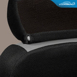 Coverking Sportex Spacer Mesh Tailored Front Seat Covers for Toyota FJ Cruiser