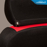 Coverking Sportex Spacer Mesh Tailored Front Seat Covers for Chevy Silverado
