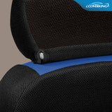 Coverking Sportex Spacer Mesh Tailored Front Seat Covers for Chevy Colorado
