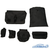 Coverking Kryptek Ballistic Cordura Tactical Custom Fit Seat Covers for Jeep Wrangler