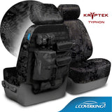 Coverking Kryptek Tactical Tailored Seat Covers for Nissan Titan xD 2015-2017 Full Set