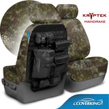 Coverking Kryptek Camo Tactical Front Seat Covers for Toyota Tundra 2014-2017