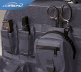 Coverking Tactical Cordura Ballistic Custom Fit Seat Covers for Jeep Wrangler JK with MOLLE storage system