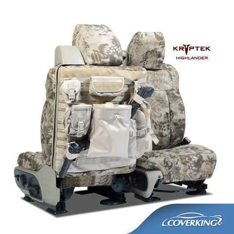 Coverking Kryptek Ballistic Cordura Tactical Custom Fit Seat Covers for RAM Trucks