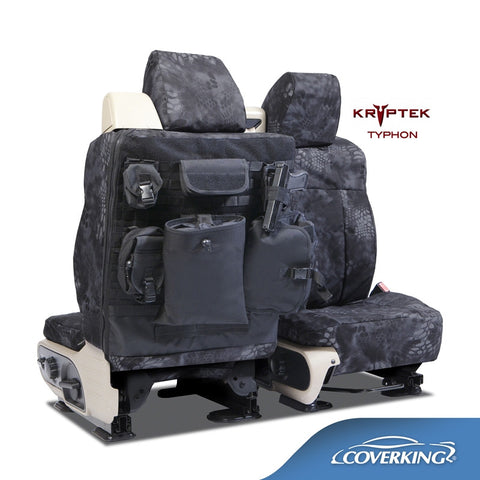 Coverking Kryptek Ballistic Cordura Tactical Custom Fit Seat Covers for Ford with Extra Bags