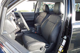 Clazzio Leather Custom Black Seat Covers for Toyota Tacoma 2016 Double Cab
