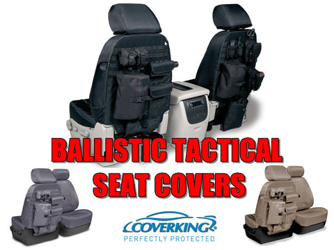 Coverking  Ballistic Tactical Seat Covers
